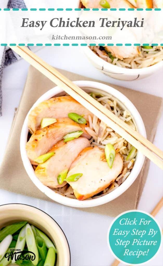 Easy Chicken Teriyaki   Japanese   Rice   Dinner Party