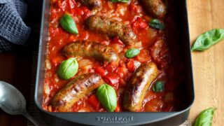 Easy One Pan Sausage Casserole
