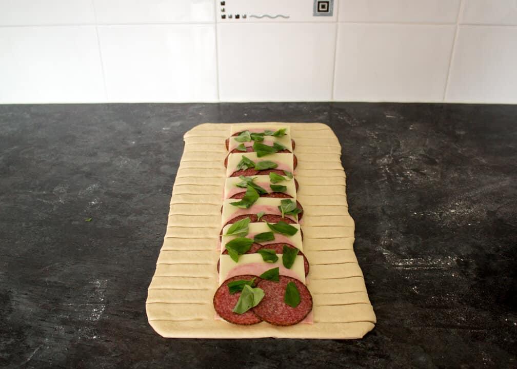 Easy Step by Step Stromboli | Pizza | Homemade | Mozzarella
