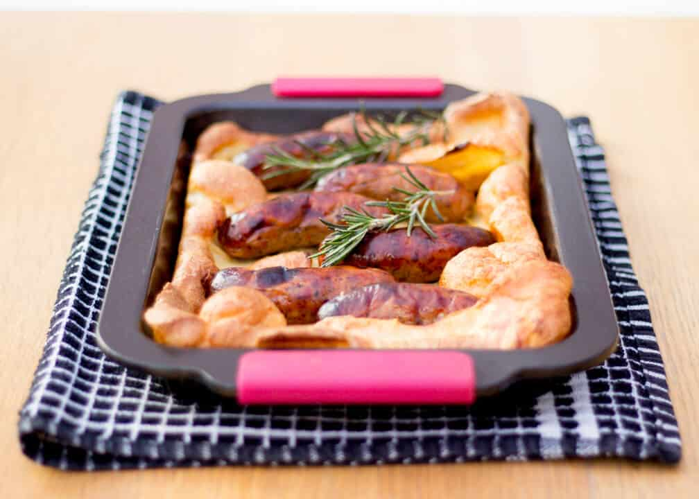 Toad in the Hole | Sausage | Yorkshire Pudding | British