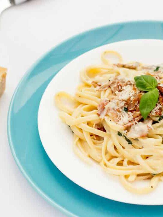 Creamy Linguine with Prosciutto | Pasta | Quick | Midweek