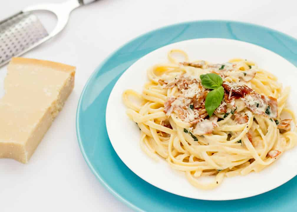 Creamy Linguine with Prosciutto | Pasta | Quick | Midweek