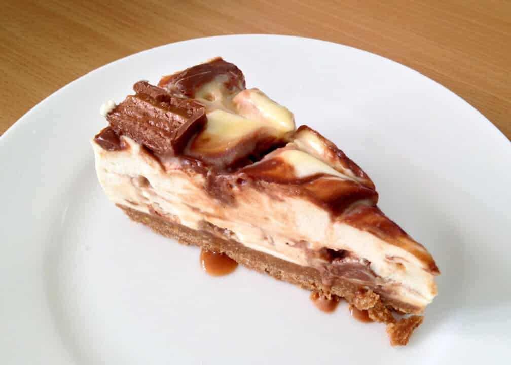 Mars Bar Cheesecake | No Bake | Candy Bar | Chocolate