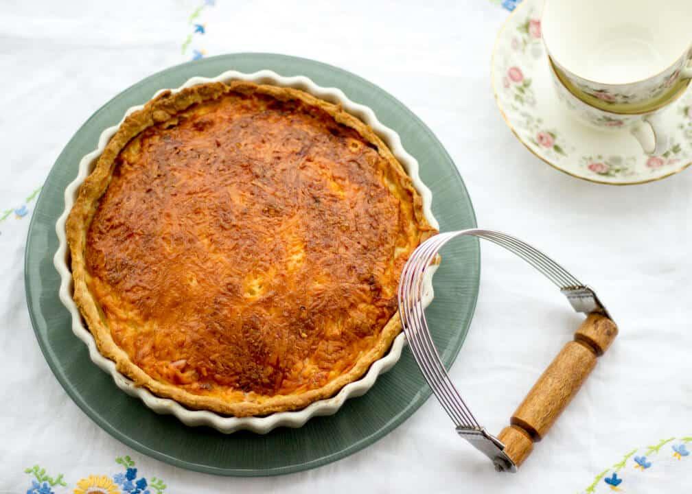 Incredible Ham & Cheese Quiche | Egg | Tart | Savoury | Mustard