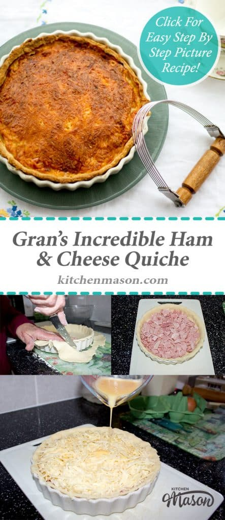 Incredible Ham & Cheese Quiche   Egg   Tart   Savoury   Mustard