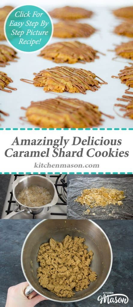 Amazingly Delicious Caramel Shard Cookies | Cookie | Easy