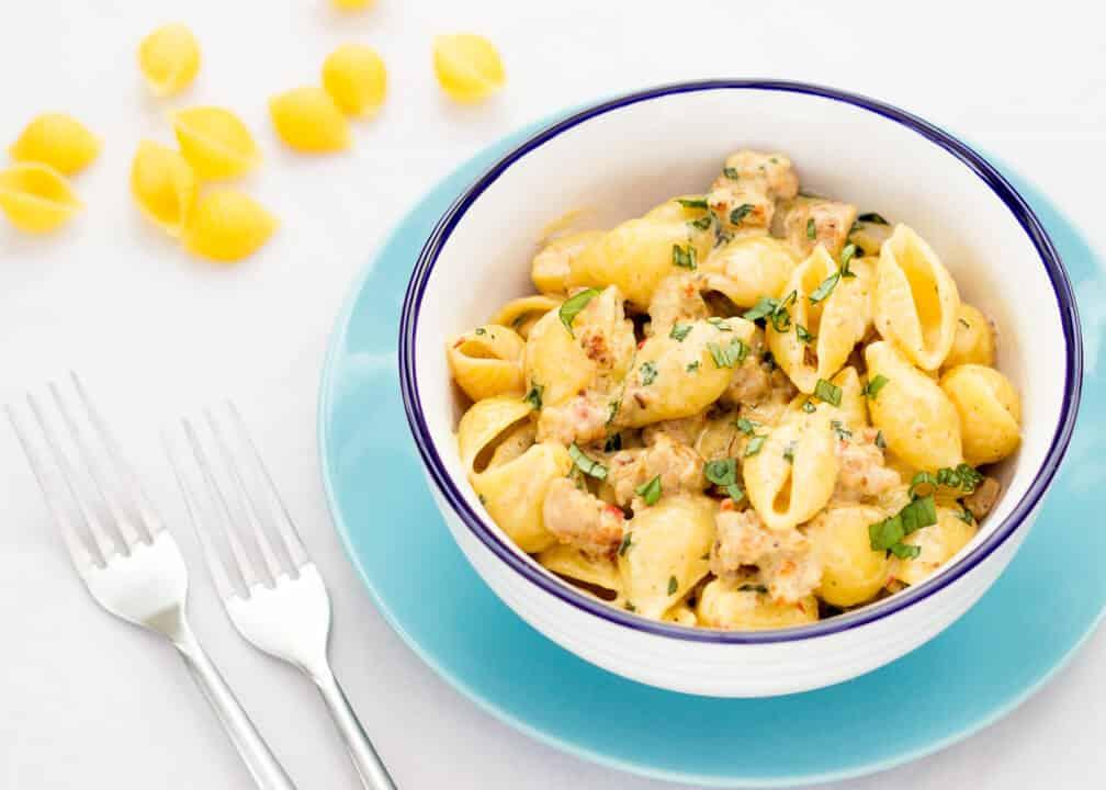 Spicy Sausage Pasta | Quick | Easy | 20 Minute | Comfort Food
