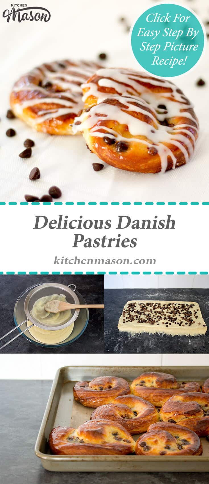 Danish Pastries | Bread | Breakfast | Chocolate | Creme Patissiere
