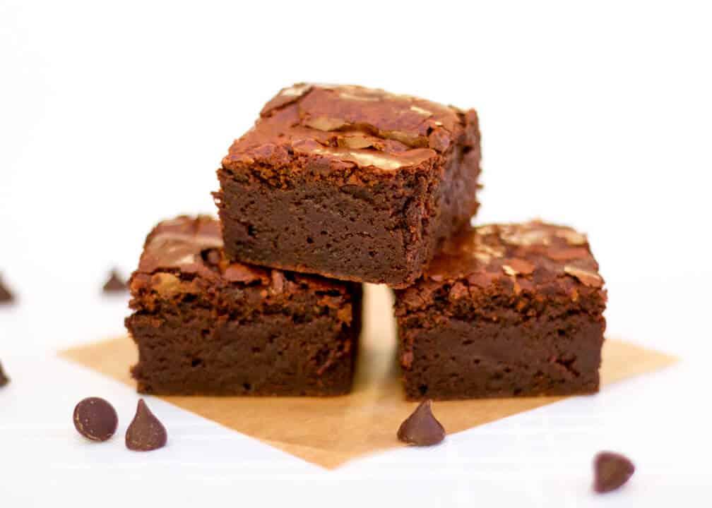 how to make easy gooey chocolate brownies