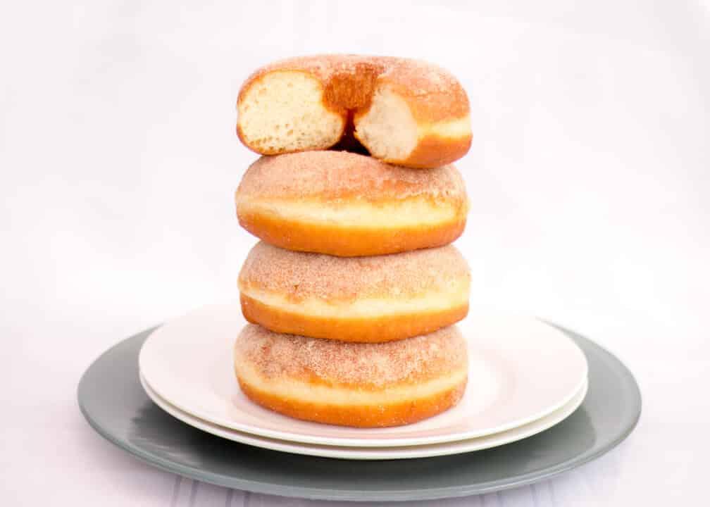Easy Homemade Doughnuts   Bread   Treat   Iced   Sugar