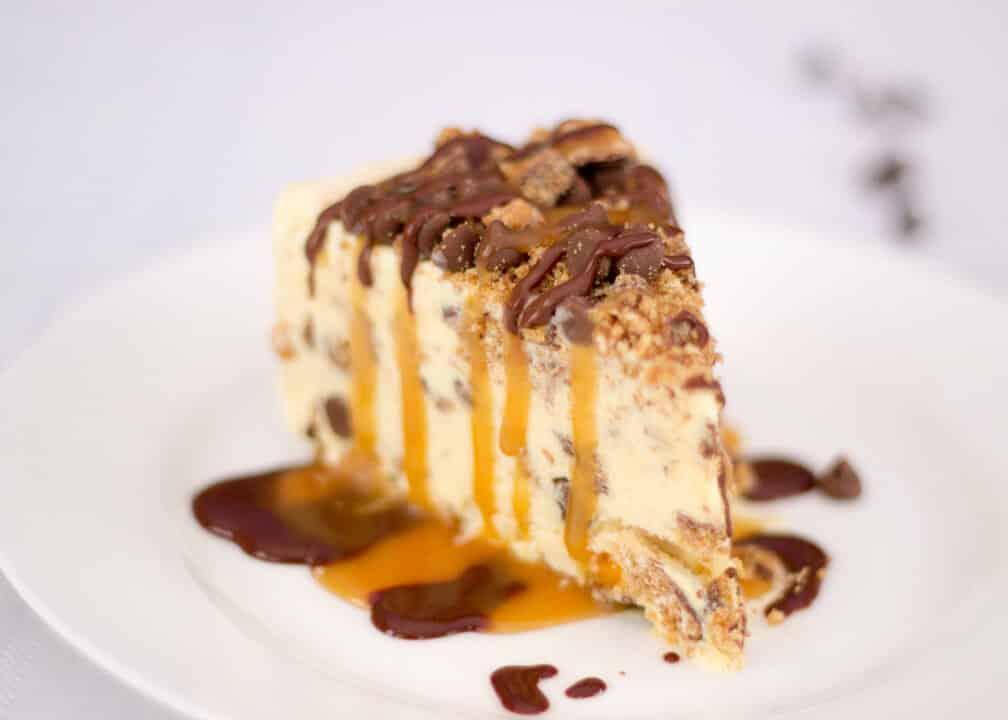 Vanilla Ice Cream Cake   No Bake   Quick   Easy Entertaining