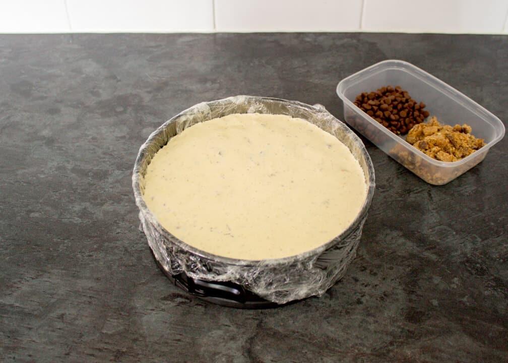Vanilla Ice Cream Cake | No Bake | Quick | Easy Entertaining