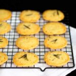 Simple & Spicy Rosemary Thins | Biscuits | Crackers | Savoury | Sables