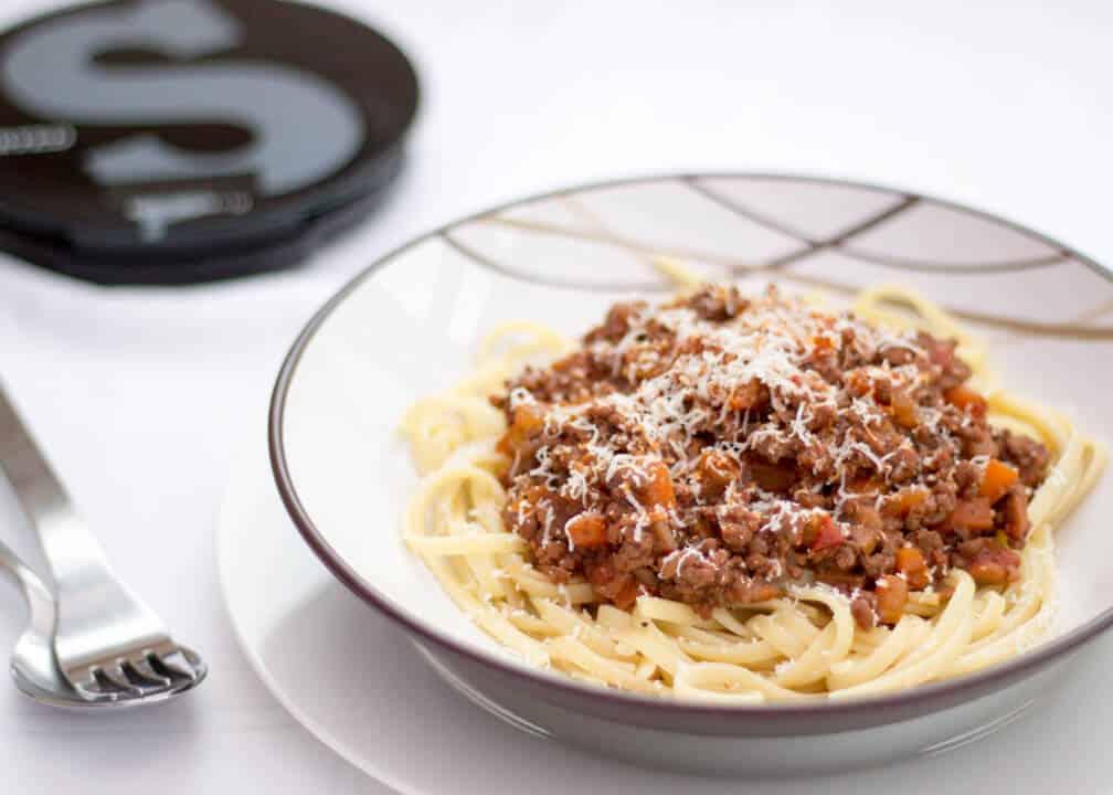 SORTED FOOD Spaghetti Bolognese