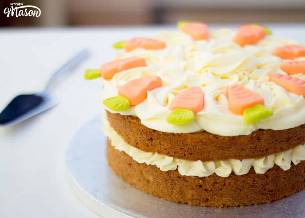 Carrot Cake | Ultimate | The Best | Cream Cheese Frosting | Spiced