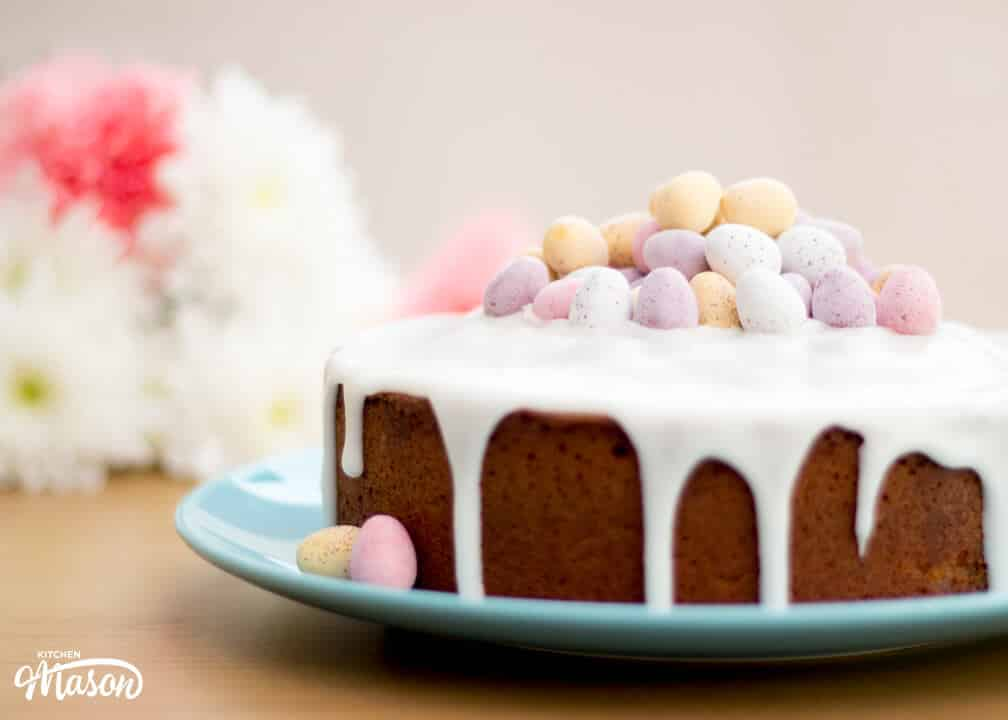 Lemon Drizzle Easter Cake | Mini Egg | Easy | Lemon Cake
