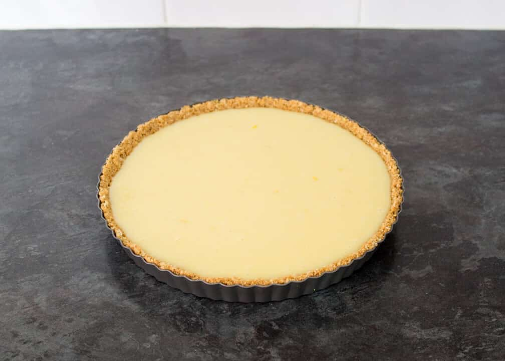White Chocolate & Lemon Tart