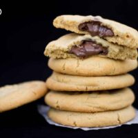 How to Make Easy Nutella Stuffed Peanut Butter Cookies