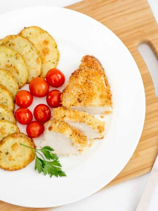 Parmesan Chicken   Baked   Simple   Breaded   Easy   Cheese