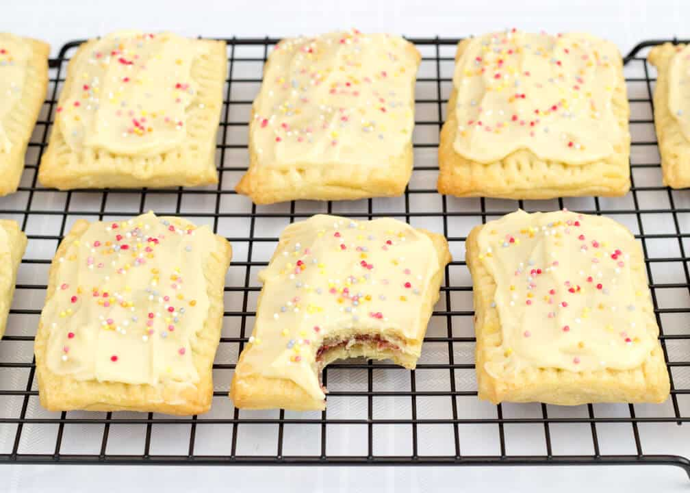 Raspberry Pop Tarts
