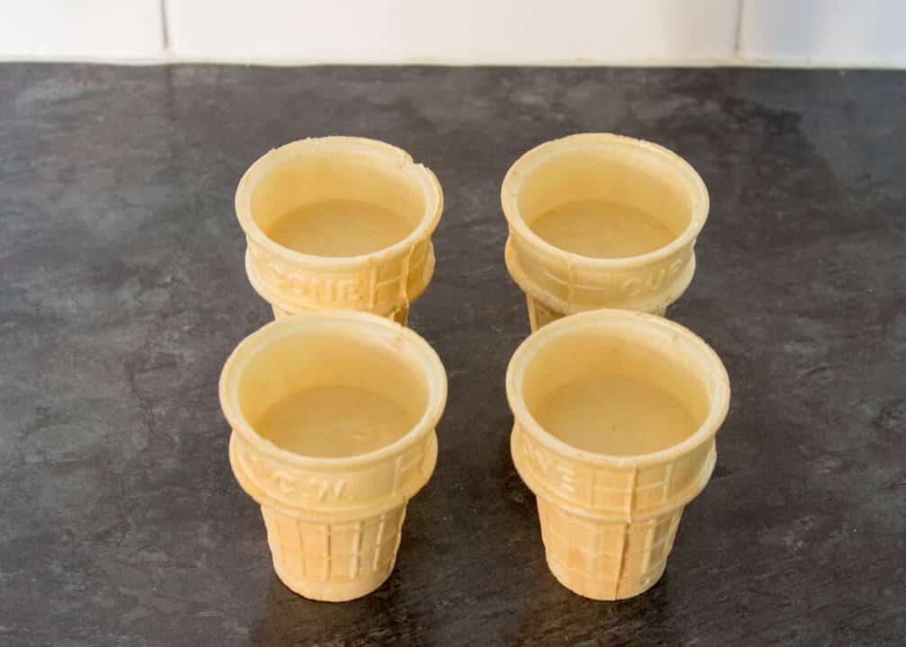 Vanilla Cupcake Cones