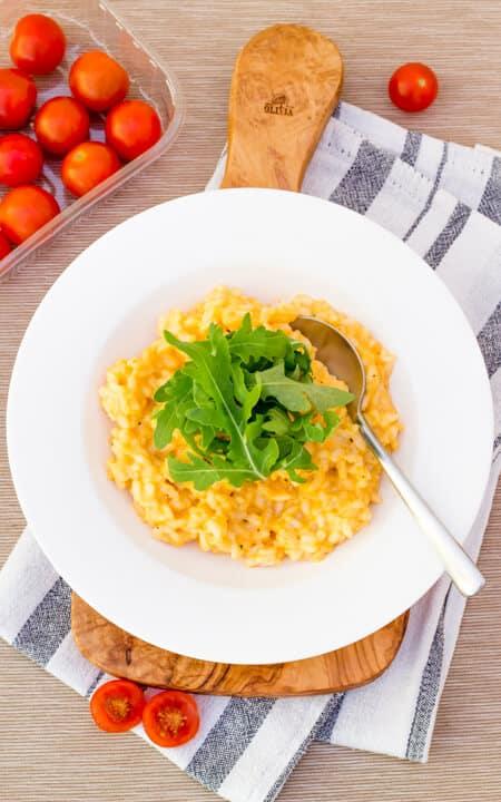 Tomato & Mascarpone Risotto