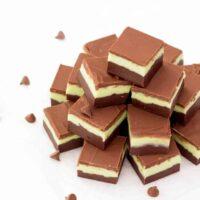Quick & Easy Mint Chocolate Fudge