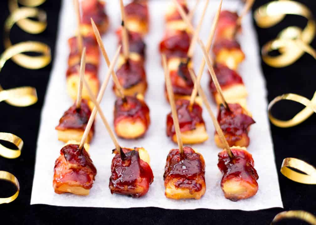 BBQ Bacon Pineapple Bites