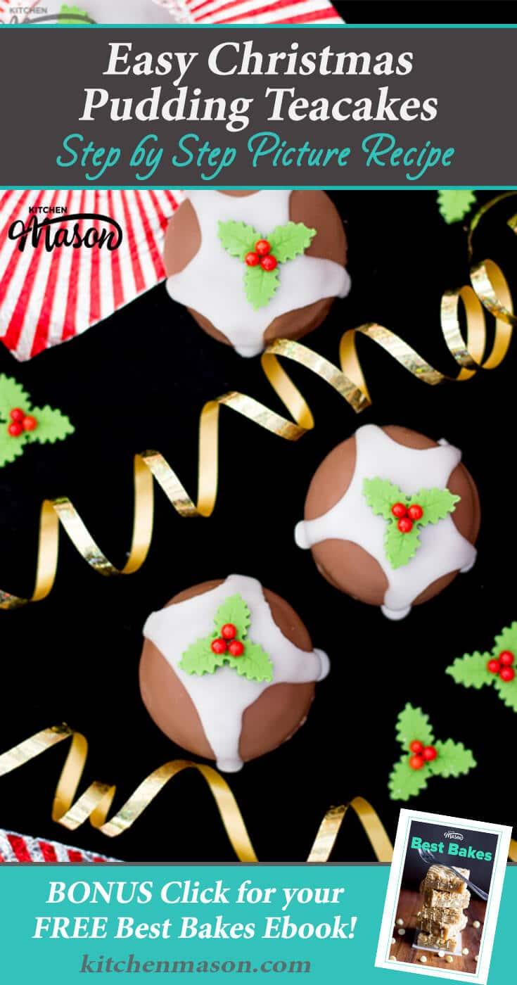 Christmas Pudding Teacakes | Easy Christmas Recipes | Kids Recipes
