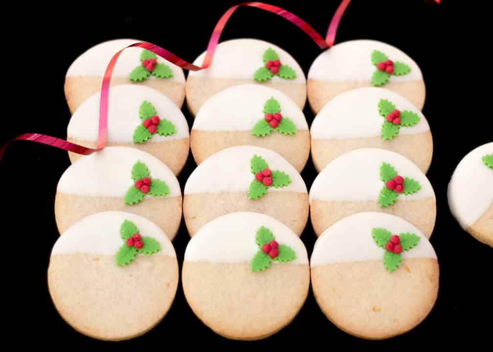 Lemon & Ginger Christmas Cookies