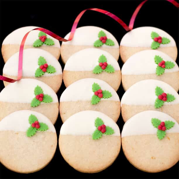 Lemon & Ginger Christmas Cookies