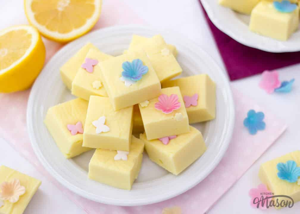 Lemon Fudge | Microwave | Mothers Day | Easy | Quick | Best