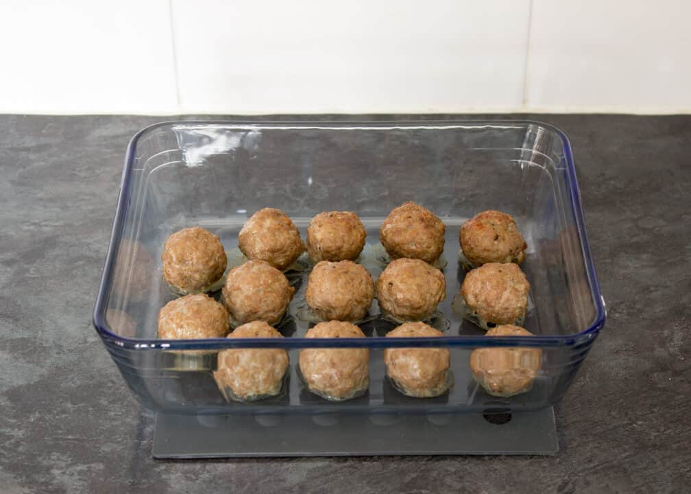 how to make easy healthy turkey meatballs