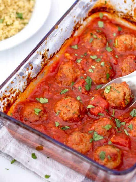 Healthy Turkey Meatballs Recipe | Easy Meatballs Recipe