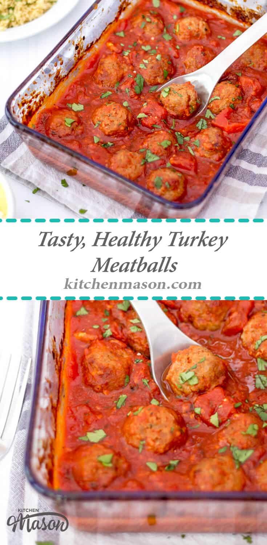 Healthy Turkey Meatballs Recipe   Easy Meatballs Recipe