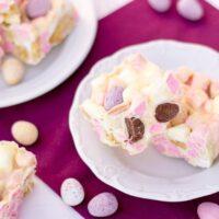 How to Make No Bake Mini Egg Rocky Road