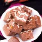 Microwave Mars Bar Fudge