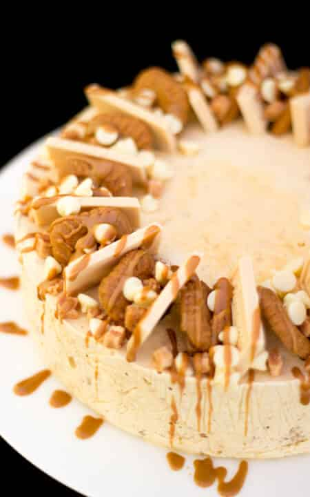 Biscoff Ice Cream Cake