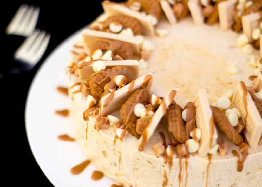 Biscoff Ice Cream Cake