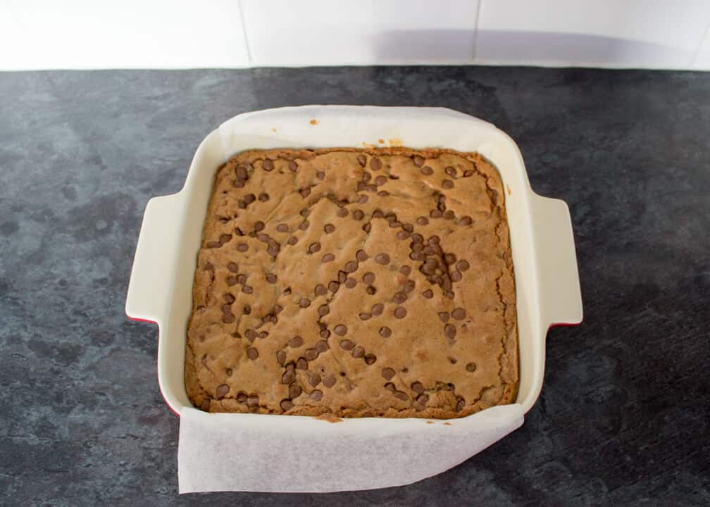 Choc Chip Cookie Bars