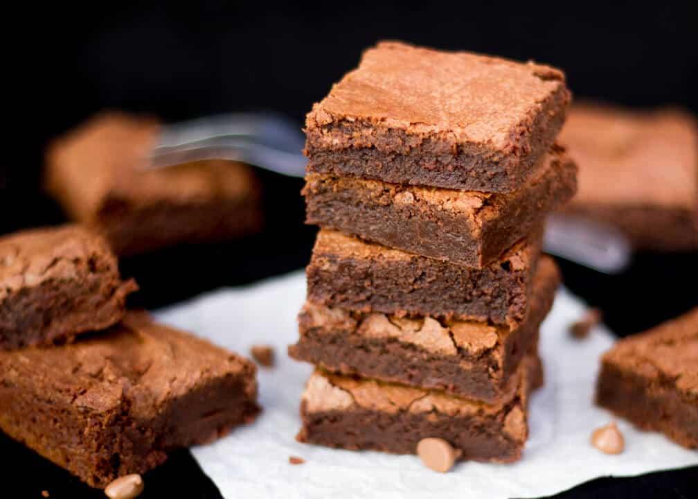 Easy One Bowl Brownies
