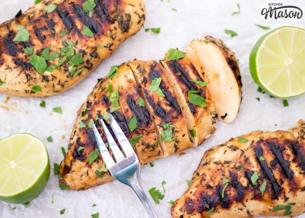 Chargrilled Lime Chicken | Juicy | Easy | Healthy | Marinated