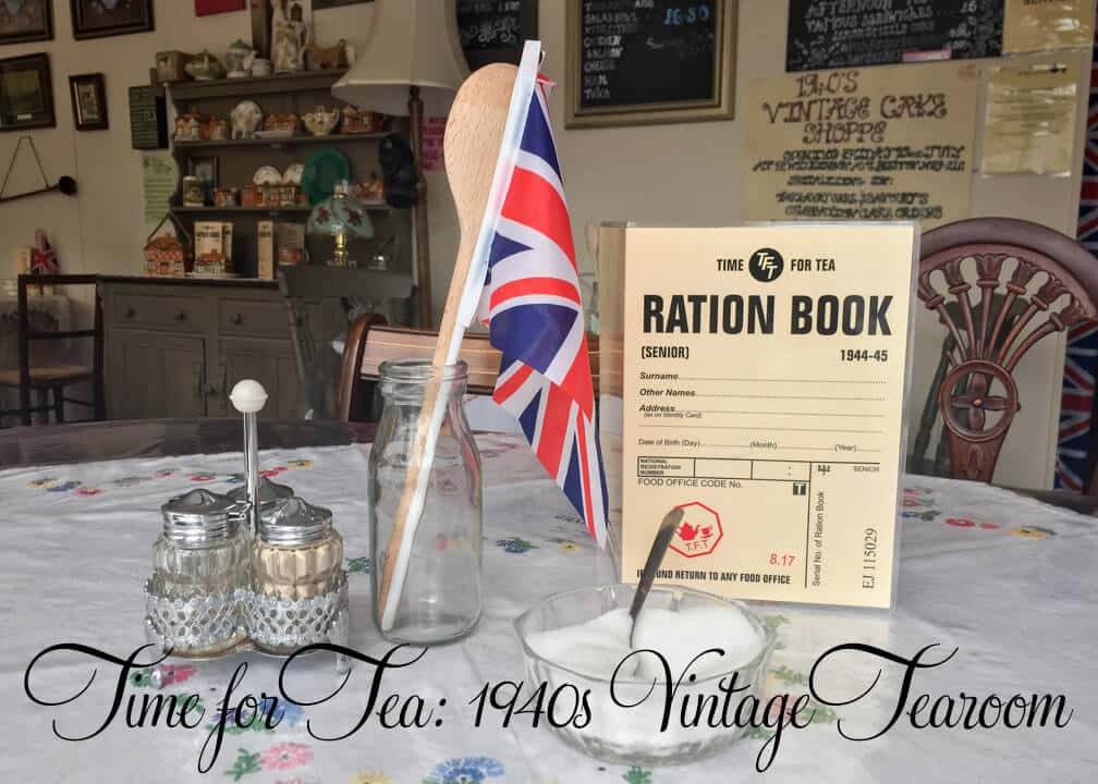 Restaurant Review: Time for Tea 1940's Vintage Tearoom