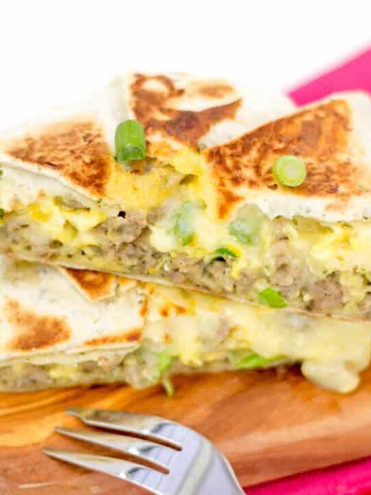 Easy Breakfast Recipes   Quesadilla Recipes   Breakfast Quesadilla