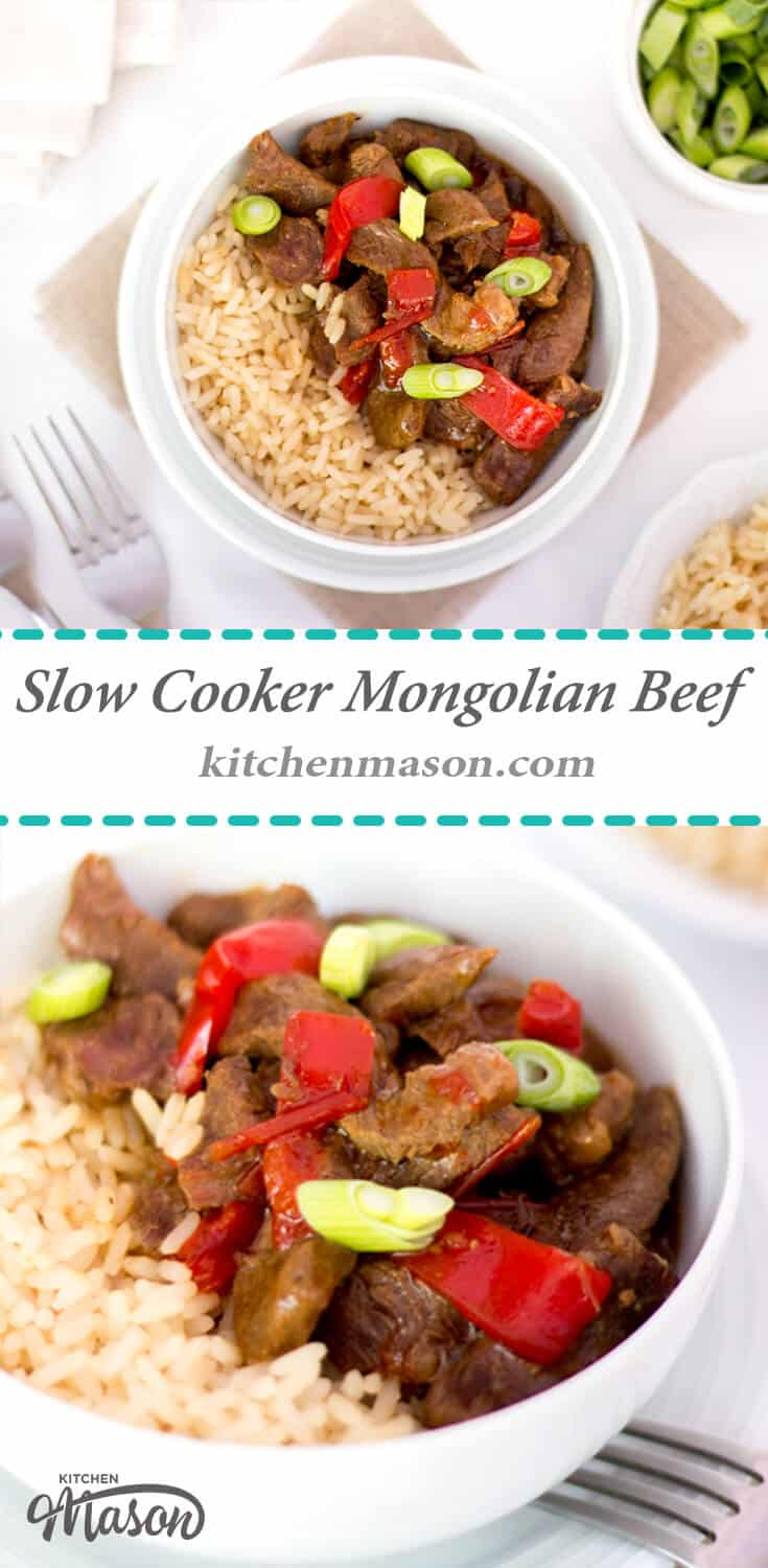 Slow Cooker Mongolian Beef - KitchenMason - Easy Step by Step ...