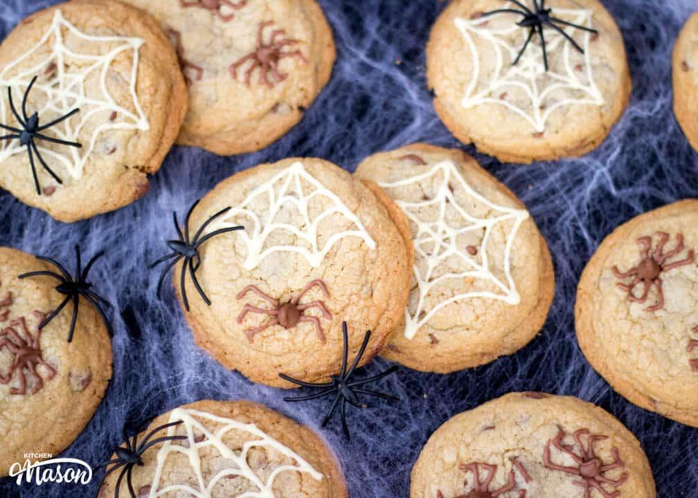 Spider Cookies | Easy Halloween Recipes | Easy Halloween Treats