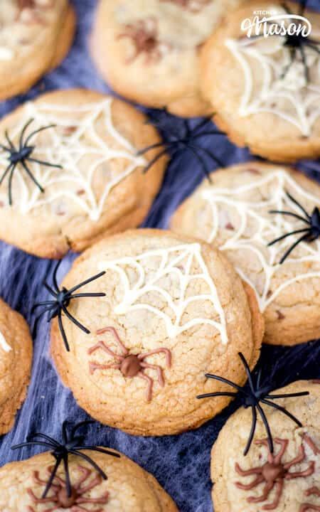 Spider Cookies | Easy Halloween Recipes | Easy Halloween ...