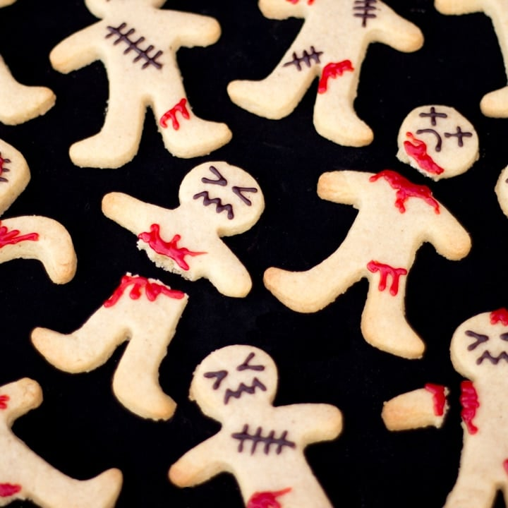 How to Make Super Easy Ginger-Dead Men Halloween Biscuits