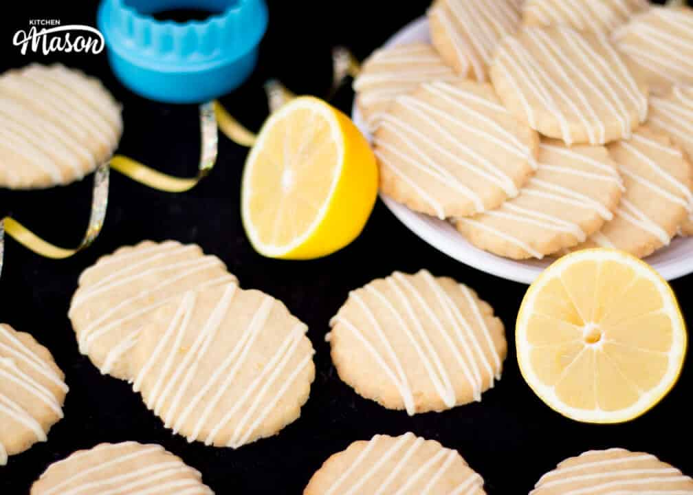 Lemon Cookies | 4 Ingredient | Easy | White Chocolate | Simple
