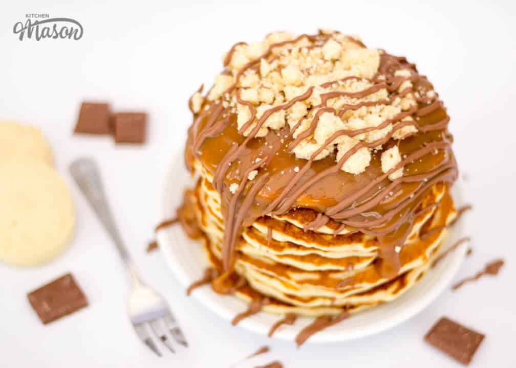Millionaire's Shortbread Pancakes | The Best | Pancake Day | Caramel